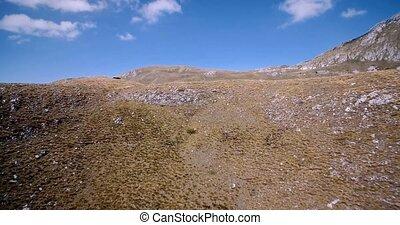 luftaufnahmen, erstaunlich, berge, in, durmitor, nationalpark, montenegro