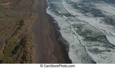 luftaufnahmen, playa, de, la boca, chile, -, neutral,...