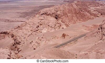 luftaufnahmen, valle de la luna, atacama wüste, chile, -,...