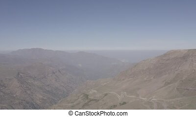luftaufnahmen, valle, nevado, chile, -, wohnung, version