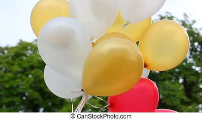 luftballone, festlicher