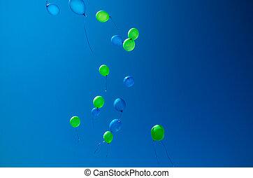 luftballone, fliegendes