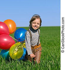 luftballone, kinder