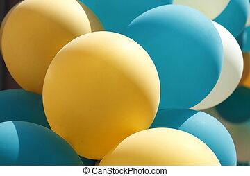 luftballons, bunte