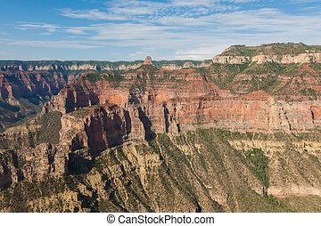 luftblick, grand- canyon nationalpark, in, arizona