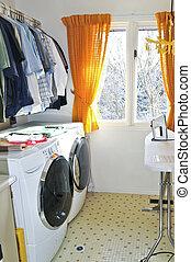 lugar lavanderia