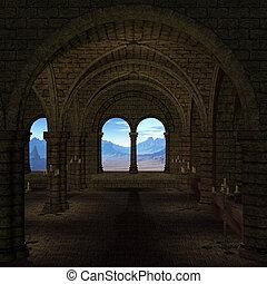 lugar, medieval