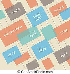 lugar, para, seu, texto, here., modelo, de, design.