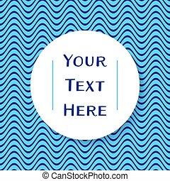 lugar, para, su, texto