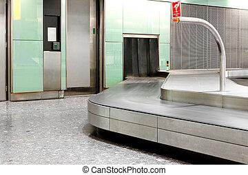 Luggage area