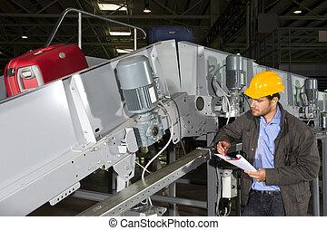 Luggage handling engineer - A maintenance engineer...