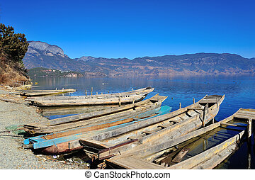 Lugu Lake in Yunnan