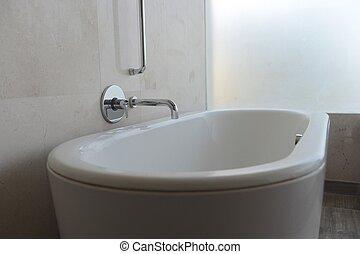 lujo, baño