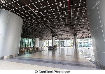 lujo, edificios de oficinas, interior