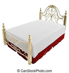 luksus, seng