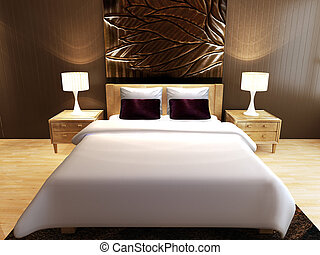 luksus, sypialnia