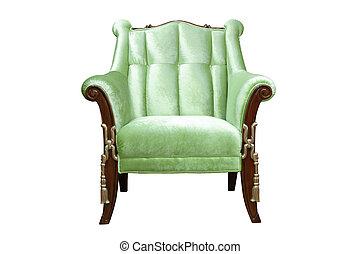 luksusowy, fotel