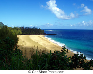 Lumahai Beach. Kauai, Hawaii