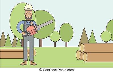 Lumber-man.