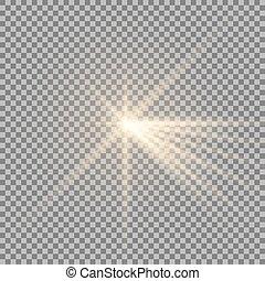 lumière, éclat