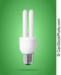 lumière, énergie, bulb., économie