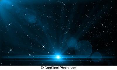 lumière, étoile, espace