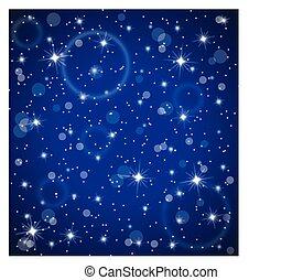 lumière étoiles, fond