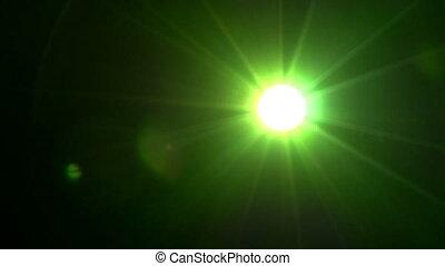 lumière, étrange, scintiller