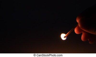 lumière, allumette