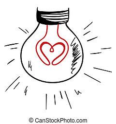 lumière, amour