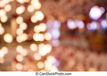 lumière, arbre, noël