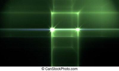 lumière, balayage, pixel, vagues
