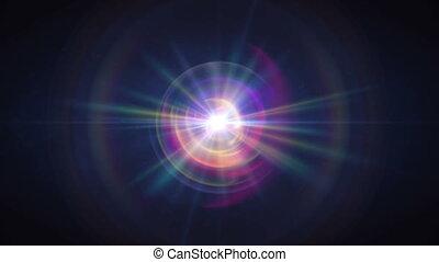 lumière, balle, magie