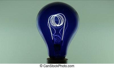 lumière bleue, électrique
