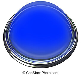 lumière bleue, bouton, attention, alerte, prise, message, annoncer, rond