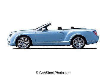 lumière bleue, cabriolet