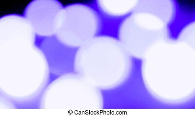 lumière bleue, fond