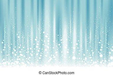 lumière bleue, glacé, fond