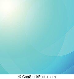 lumière bleue, résumé, vecteur, fond