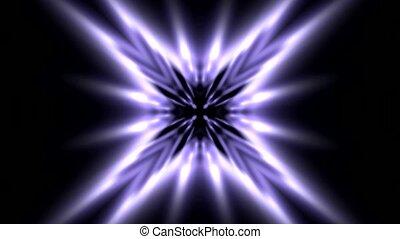lumière bleue, rayon, lumière
