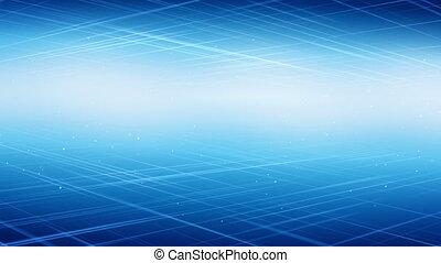 lumière bleue, technologie, loopable, fond