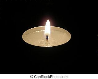 lumière bougie