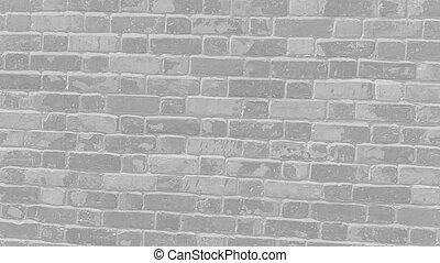 lumière, brique, gris, mur