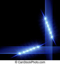 lumière, cadre