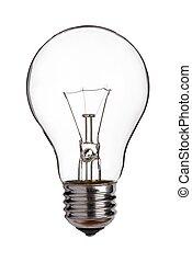 lumière, coupure, white., ampoule, dehors