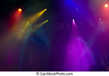 lumière, disco, exposition