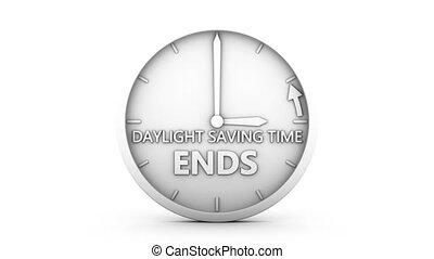 lumière du jour, économie, temps