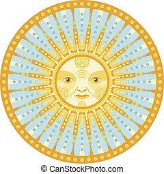lumière du jour, mandala
