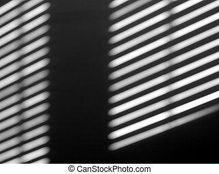 lumière, fenêtre, ombre