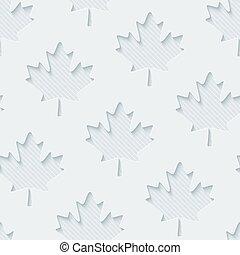 lumière, feuilles, wallpaper., érable, gris